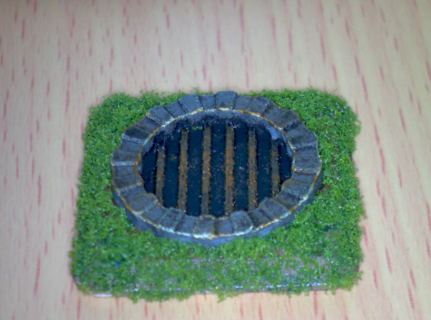 Fantasy Sewer Grate Plate