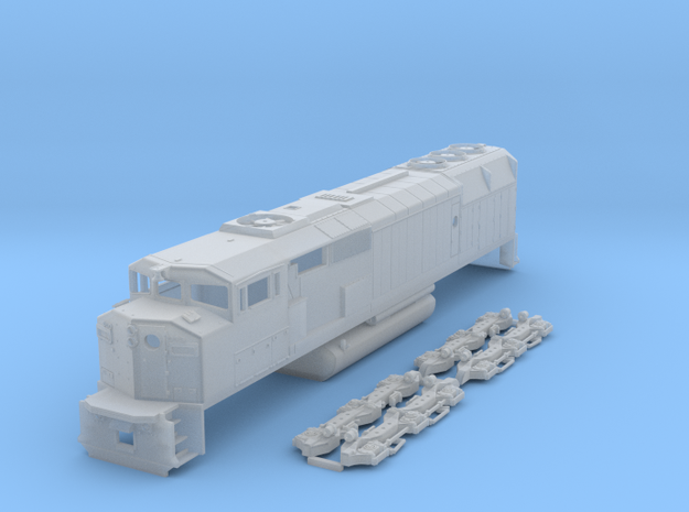 N Scale SD40-2f in Smooth Fine Detail Plastic