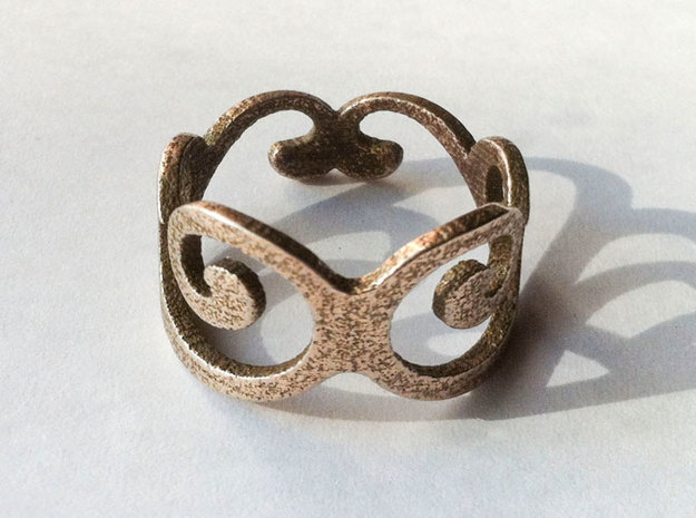 Royal Ring - US Size 7 3d printed