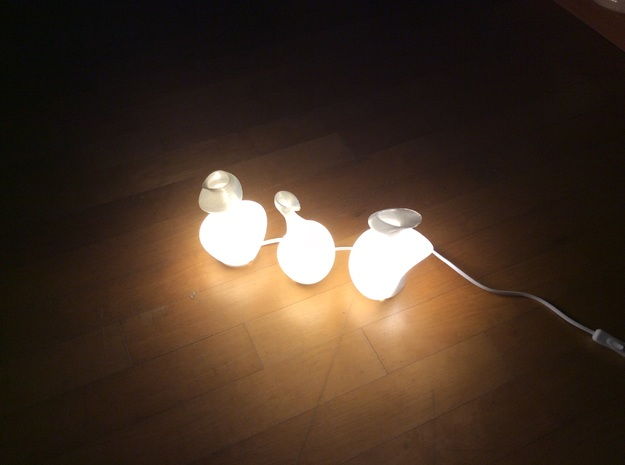 1-lights in White Natural Versatile Plastic