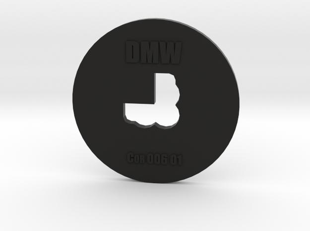 Clay Extruder Die: Corner 006 01 in Black Natural Versatile Plastic