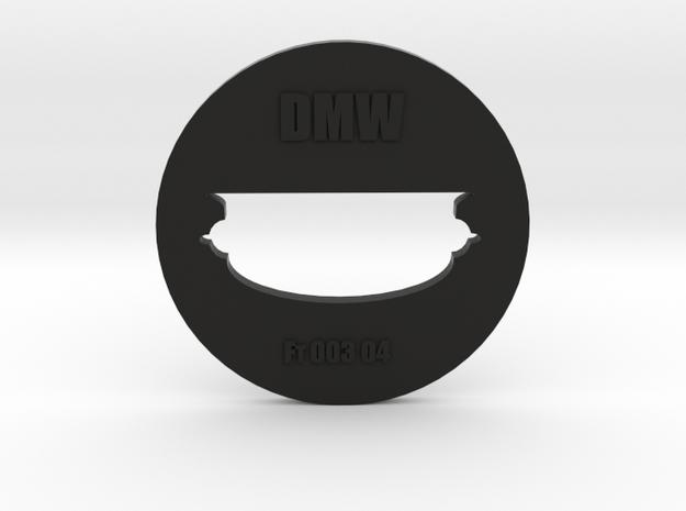 Clay Extruder Die: Footer 003 04 in Black Natural Versatile Plastic