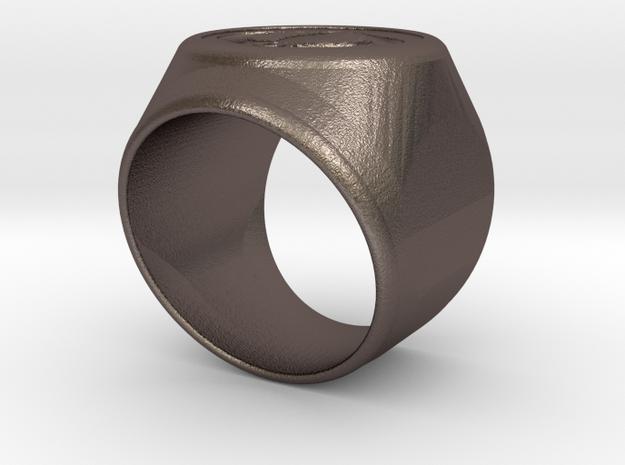 Riga Signet Ring v4 in Stainless Steel