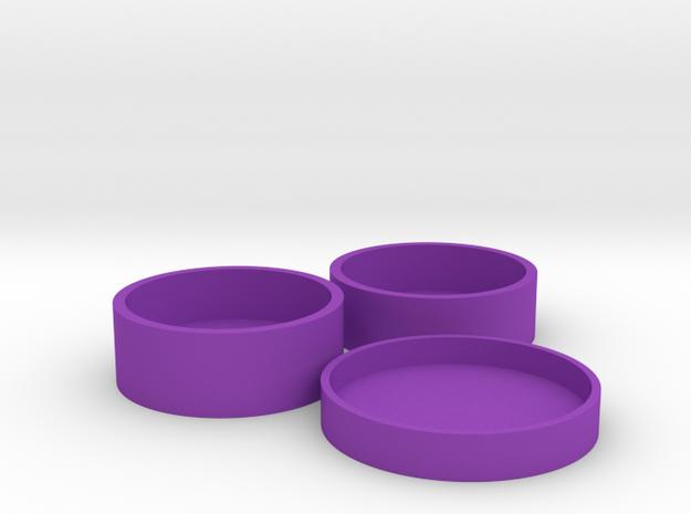 Okito Boston Set USA Quarter in Purple Processed Versatile Plastic