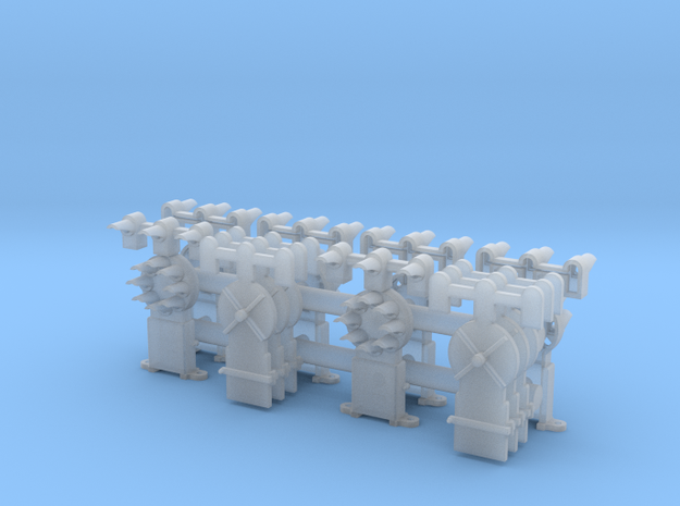 Dwarf B&O CPL w/Upper Spd Lamps(6) - HO 87:1 Scale