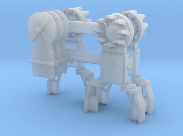 Dwarf B&O CPL-GndBrkt(3) - HO 87:1 Scale in Smooth Fine Detail Plastic