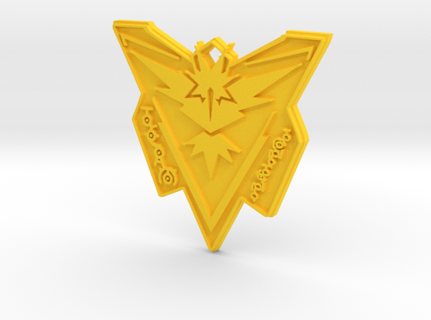 Pokemon Go Team Instinct Badge