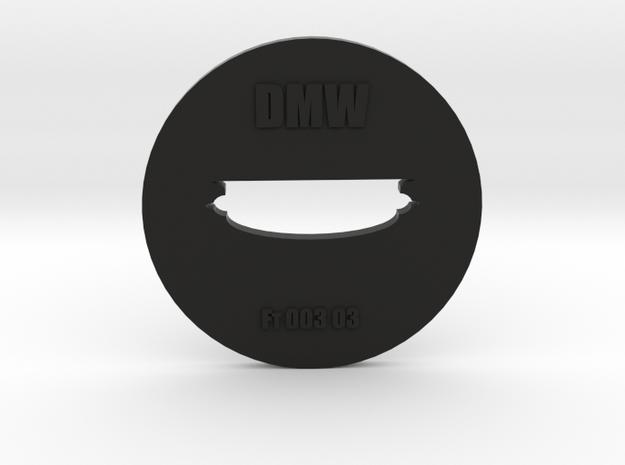 Clay Extruder Die: Footer 003 03 in Black Natural Versatile Plastic
