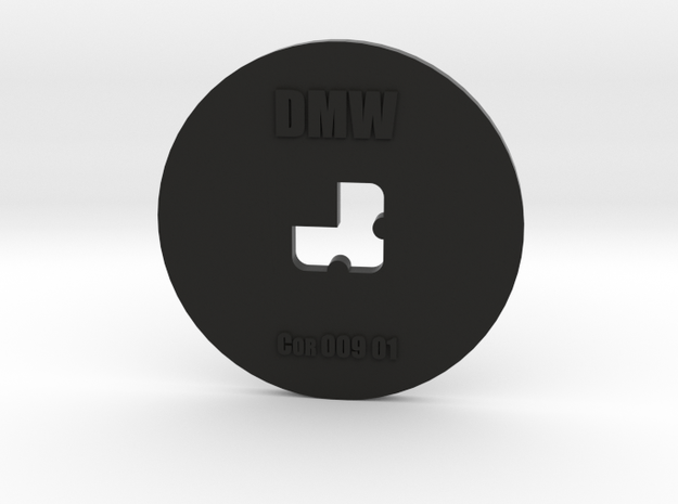Clay Extruder Die: Corner 009 01 in Black Natural Versatile Plastic