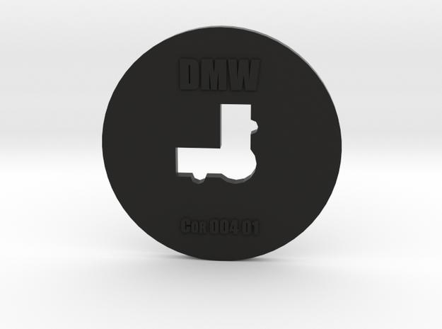 Clay Extruder Die: Corner 004 01 in Black Natural Versatile Plastic