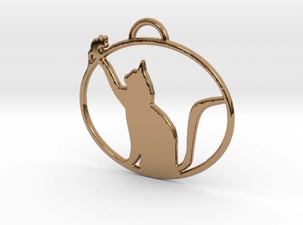 Friendly Cat Pendant