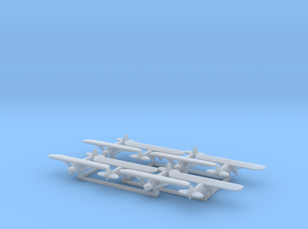 Piper PA18 - set of 8 - 1:700 scale
