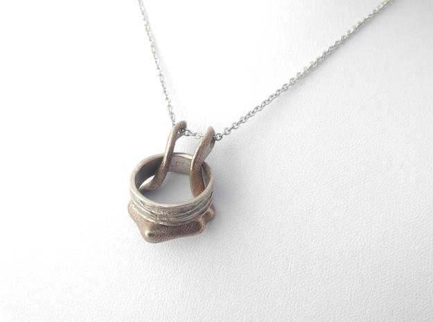 Ring Holder Pendant: Gazelle