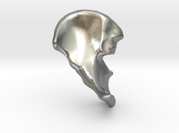 Hip Bone Keychain Fob
