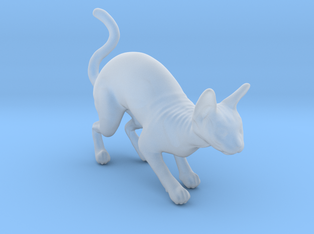 1/22 Sphynx Standing in Smooth Fine Detail Plastic