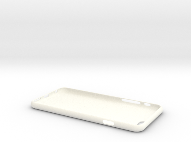 iPhone 6S Case in White Strong & Flexible Polished
