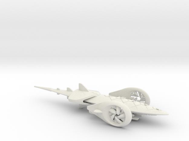 SolarJet flying car - Concept Design Quest in White Natural Versatile Plastic
