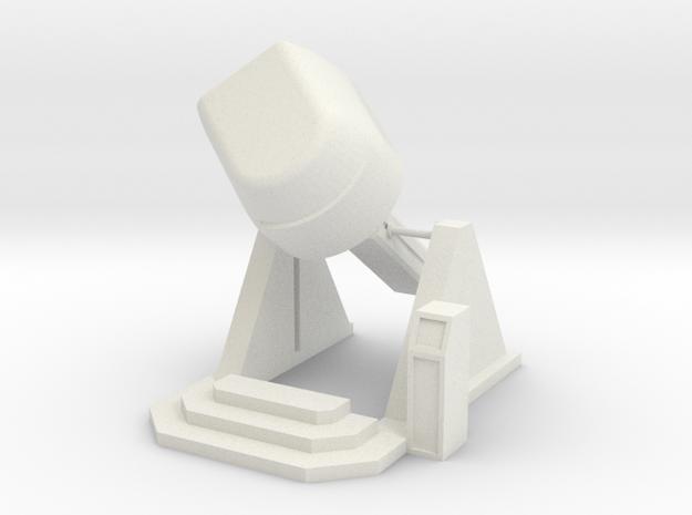 MOF X-pilot Filight Simulator 35-0-135 - 72:1 Scal in White Natural Versatile Plastic