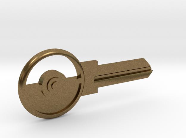 Pokeball House Key Blank - KW1/66
