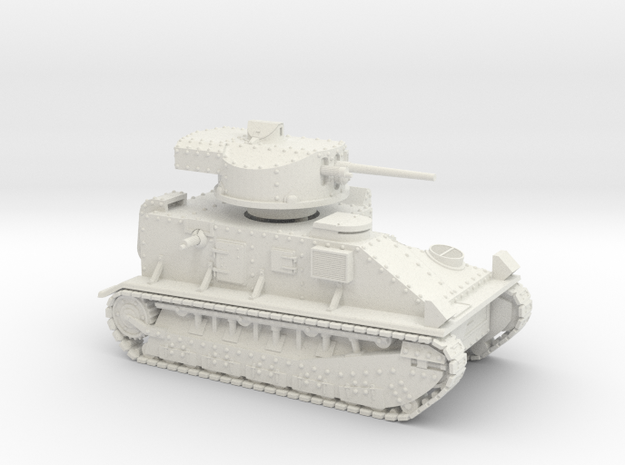 Vickers Medium MkII* (15mm) in White Natural Versatile Plastic