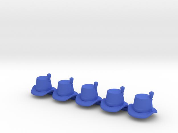 5 x British Royal Marine Hat in Blue Processed Versatile Plastic