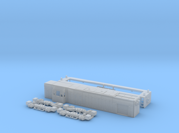 N Scale G12 locomotive in Smooth Fine Detail Plastic