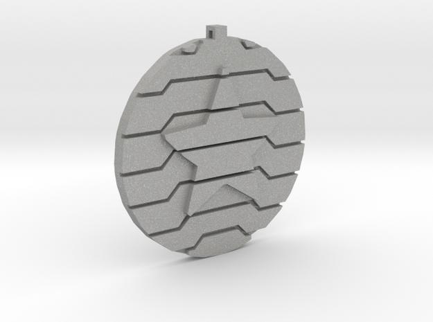 Winter Soldier | Bucky Barnes Pendant in Aluminum