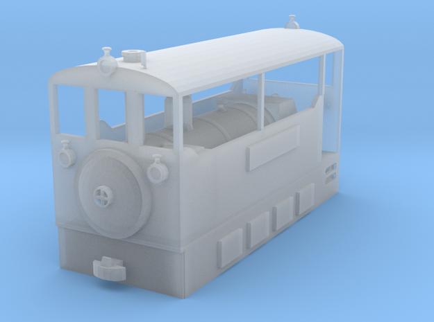 Freelance H0e tramway model loco 3d printed