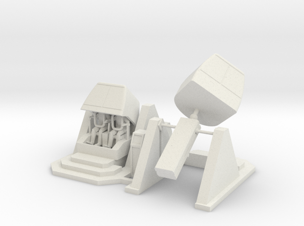 MOF X-pilot Simulator - Loading + 35-0-135 72:1 Sc in White Natural Versatile Plastic