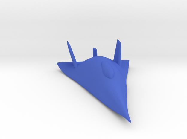 X-24B in Blue Processed Versatile Plastic