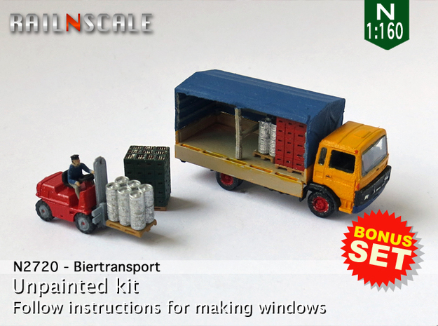BONUS SET Biertransport (N 1:160)