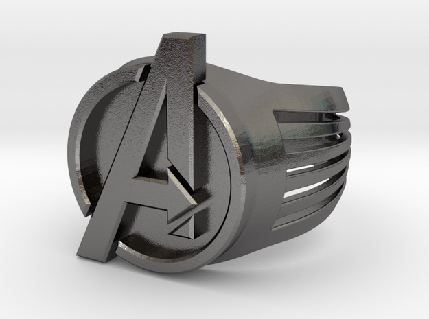 Avengers Ring 26mm in Polished Nickel Steel