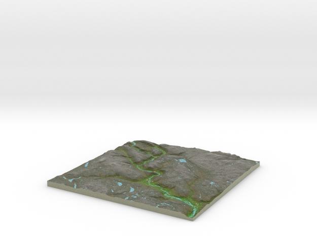 Terrafab generated model Thu Jul 14 2016 12:58:14  in Full Color Sandstone