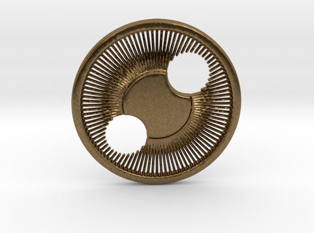 Eye Pendant in Natural Bronze