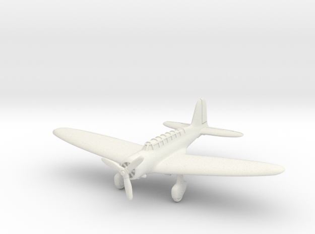 Mitsubishi B5M Mabel 1/200 in White Natural Versatile Plastic