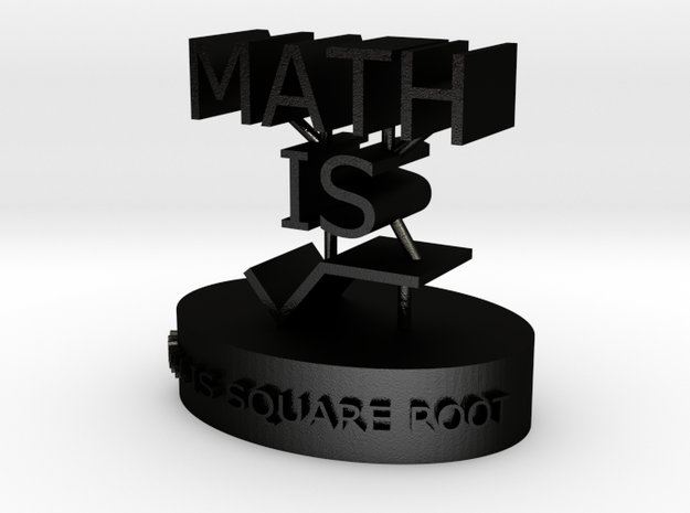 Super Mega Comics - Cool Math Figurine 2 3d printed