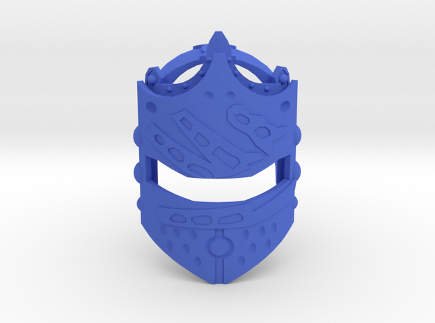 Toa Helryx's Mask of Psychometry in Blue Strong & Flexible Polished