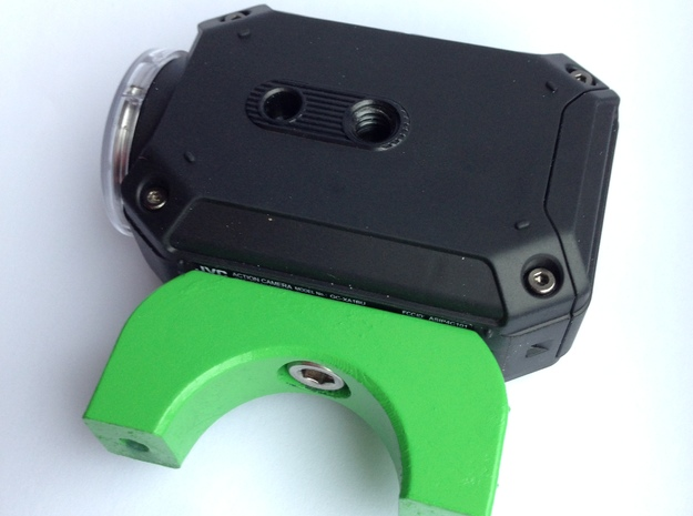 Camera Bracket 3d printed fitted to camera