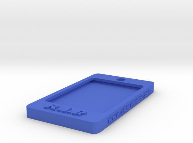 Tag-C-5 in Blue Processed Versatile Plastic