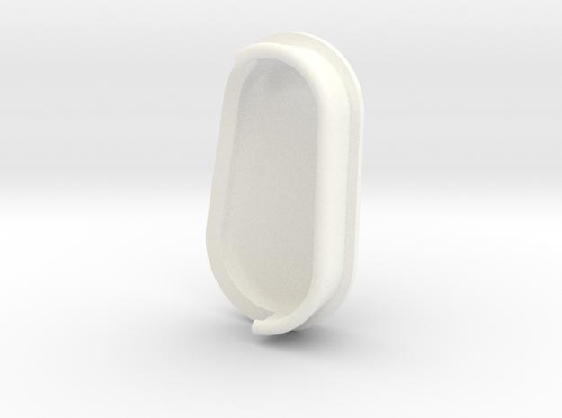 Bman in White Processed Versatile Plastic