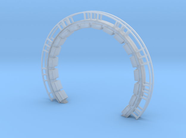 Large Ring With Cushions for DeAgo Falcon in Smooth Fine Detail Plastic