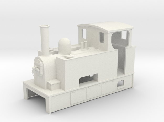 009 Steam tram loco with bunker 3