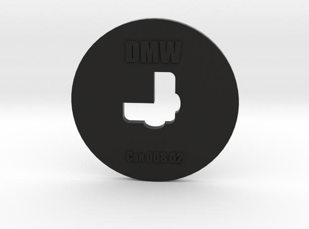 Clay Extruder Die: Corner 008 02 in Black Natural Versatile Plastic