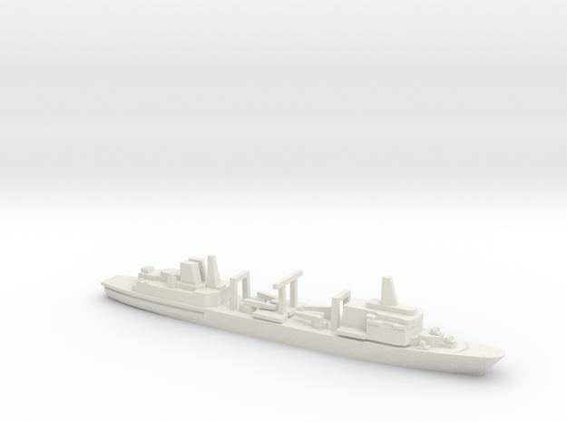 Berezina-class replenishment ship, 1/2400 in White Natural Versatile Plastic