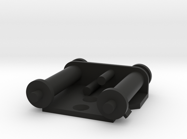 Rogue One Power Cylinders in Black Natural Versatile Plastic