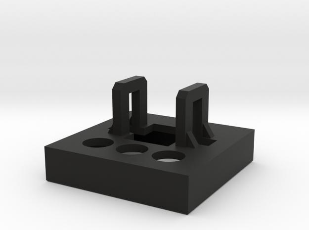 Korg EX800 Buttonholder in Black Strong & Flexible