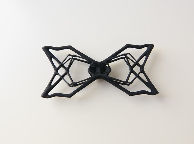 Bow Tie  in Black Natural Versatile Plastic
