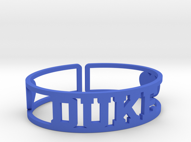 Duke Cuff in Blue Processed Versatile Plastic