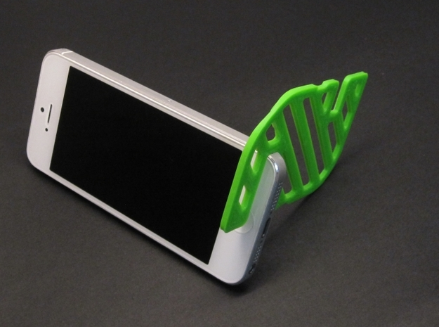 CardStand in White Natural Versatile Plastic