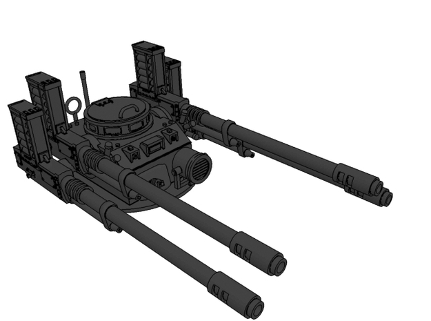 Anti aircraft turret 3d printed